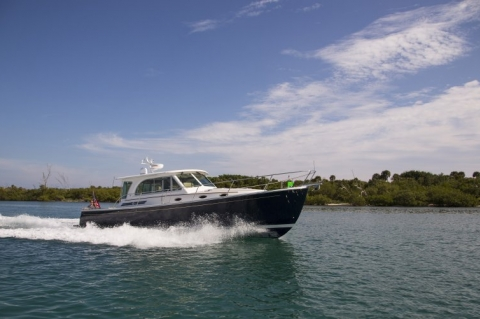 41 Back Cove Makes debut at 2014 Miami Boat Show